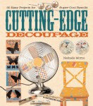 Cutting-Edge Decoupage book cover