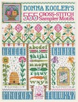 555 Cross-Stitch Sampler Motifs book cover