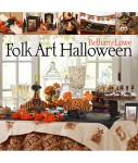 Folk Art Halloween book cover
