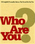 Who Are You book cover